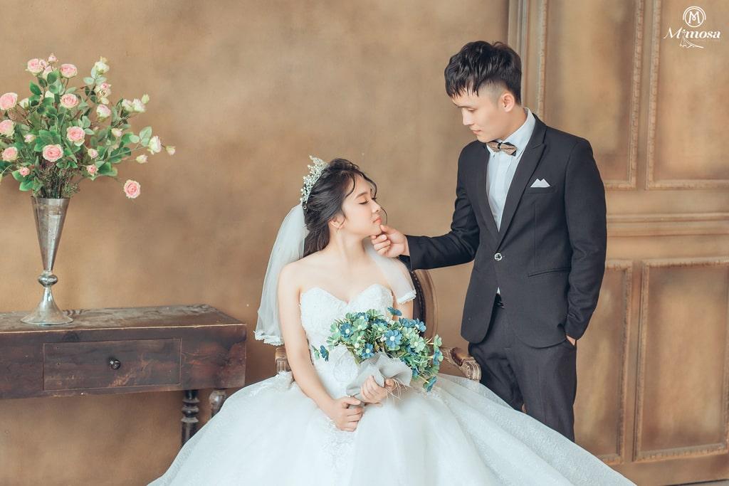 """""""Bật Mí"""" 8 phong cách chụp ảnh cưới kiểu hàn quốc studio cực chất"""