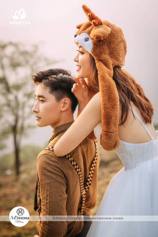 y tuong chup anh cuoi