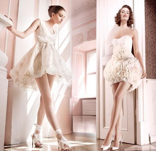 4 lưu ý khi chọn váy cưới ngắn cực chuẩn