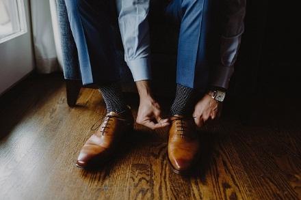 4 lưu ý cần ghi nhớ khi mua giày cưới cho nam giới