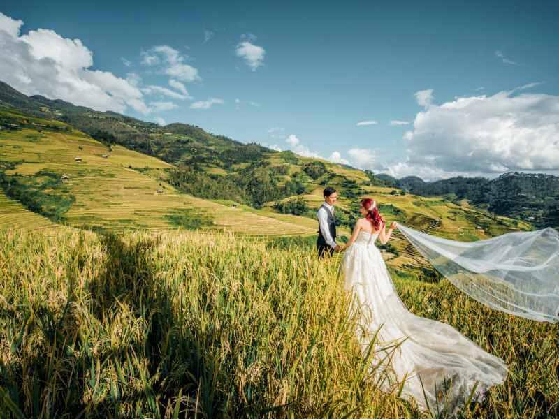 Top 3 studio và 10 địa điểm chụp ảnh cưới đẹp ở Yên Bái