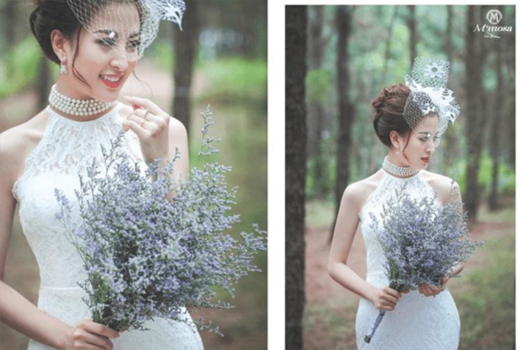 Những váy cưới luxury body kiểu dạ hội là gì?