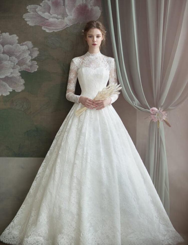 Top 10 váy cưới kiểu Hy Lạp châu Âu cổ điển đẹp nhất