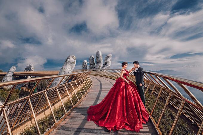 Kinh nghiệm chụp ảnh cưới ở Bà Nà Hills đẹp nhất