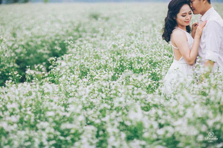 Kinh nghiệm chụp ảnh cưới ở Mộc Châu dâu rể phải biết?