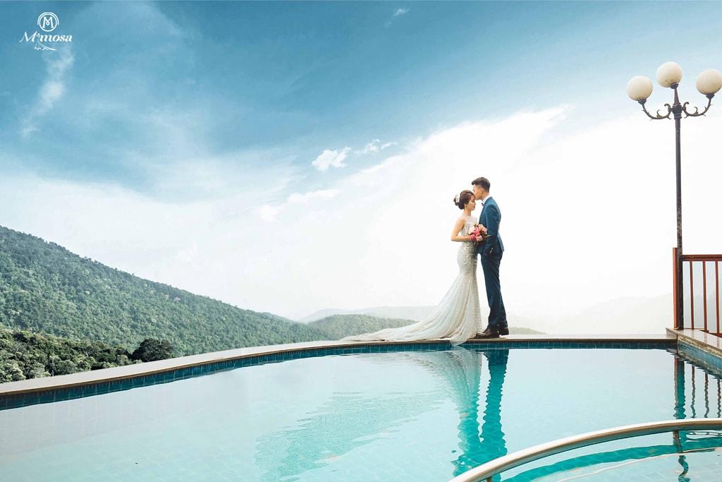 Kết quả hình ảnh cho chụp hình cưới với hồ đại lải