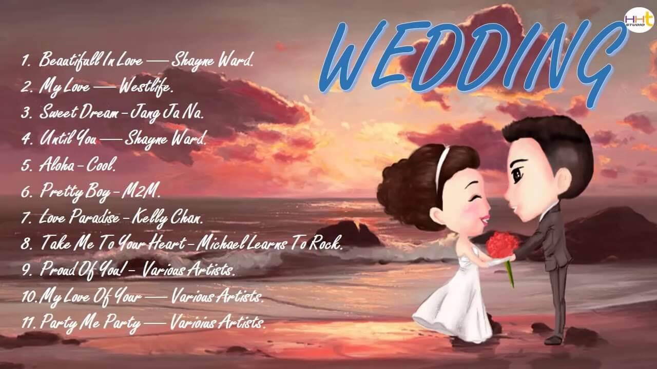 Tổng hợp các bản nhạc hay cho phóng sự cưới