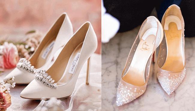 4 mẫu giày cưới đẹp đang là hot trend mùa cưới 2019