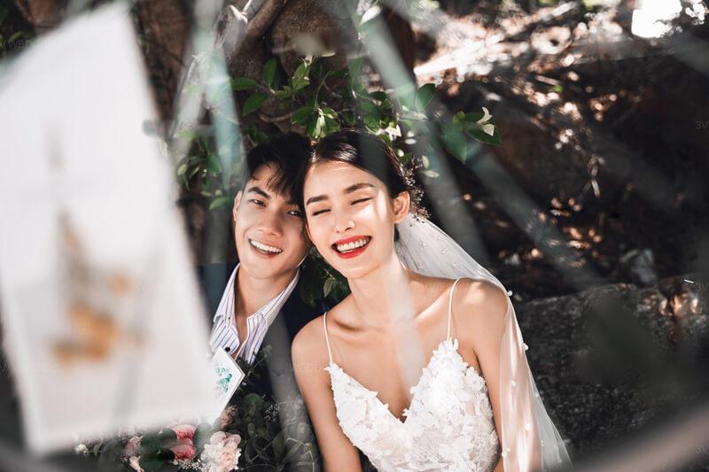 Mách cô dâu chú rể chụp style ảnh cưới vintage đẹp mãi theo thời gian