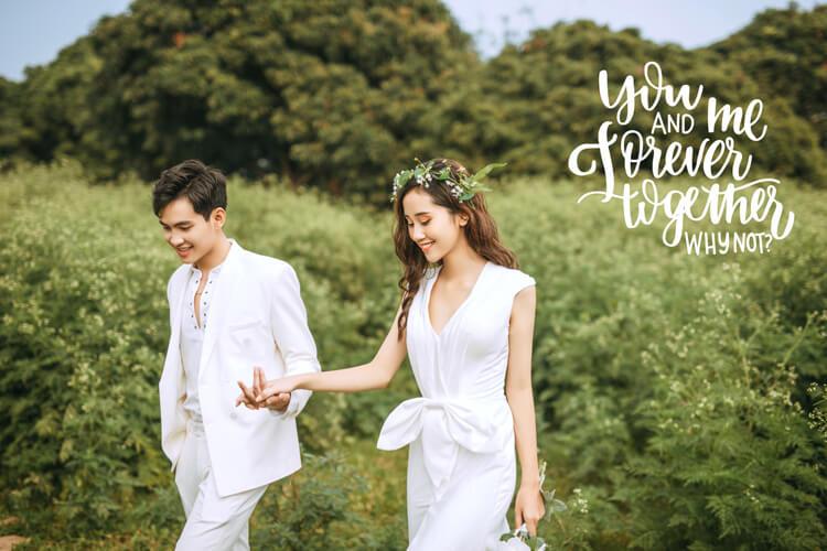 Chỉ dẫn một số cách tạo dáng chụp ảnh cưới đẹp cho các cặp đôi