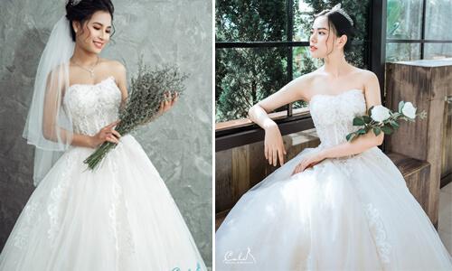 5 quy tắc cần nhớ khi chọn váy cưới cho cô dâu nấm lùn