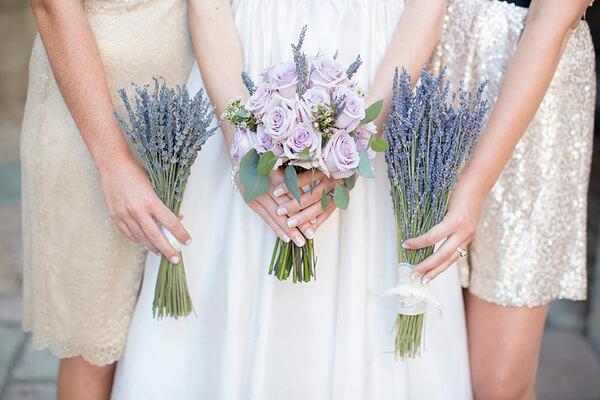 Những điều cần biết khi trang trí đám cưới bằng hoa Lavender