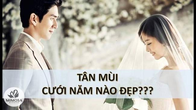 Tuổi Tân Mùi nên cưới năm nào? Tháng cưới đẹp cho nữ 1991